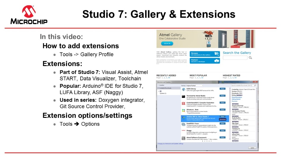 Getting Started with Atmel Studio 7